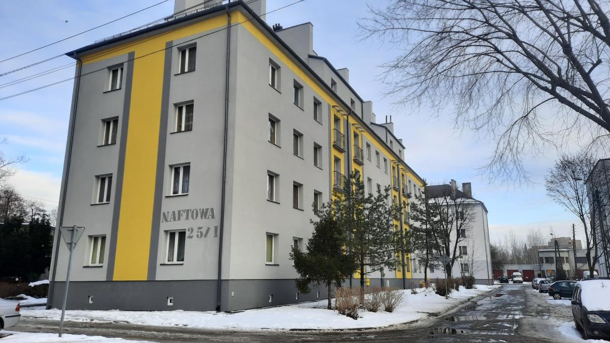 Zdjęcie budynku przy ulicy Naftowej 25/I
