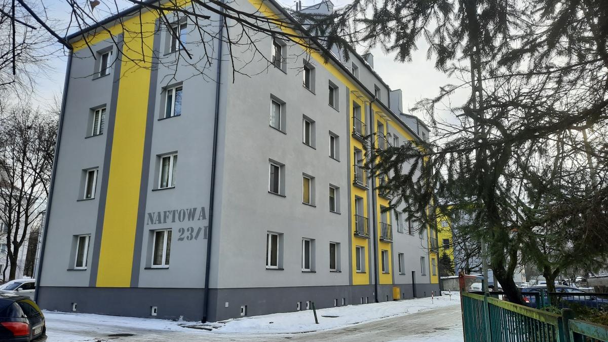 Zdjęcie budynku przy ulicy Naftowej 23/I
